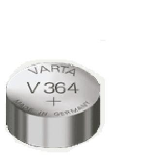 VARTA Pile oxyde argent pour montres, V364 (SR60), 1,55 Volt