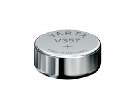 VARTA Pile oxyde argent pour montres, V357 (SR44), 1,55 Volt