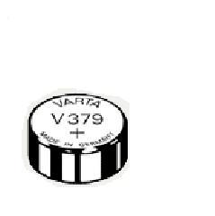 VARTA Pile oxyde argent pour montres, V379 (SR63), 1,55 Volt