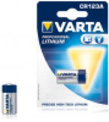 VARTA Pile photo 'Professional Lithium', CR123A, 3,0 volt