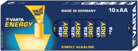 "VARTA piles alcalines ""Energy"", Mignon (AA/LR6)"