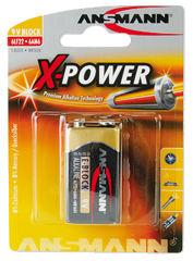 "ANSMANN pile alcaline ""X-Power"", 9V e-bloc"