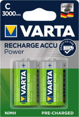 VARTA Pile NiMH 'Rechargeable Accu', Baby (C/HR14)