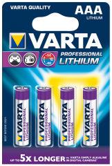 VARTA Pile au lithium 'Professional Lithium', Micro (AAA)