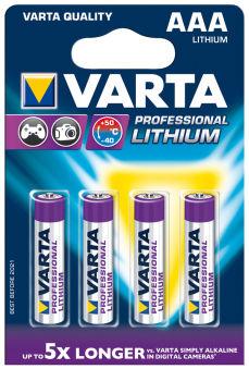VARTA Pile au lithium 'ULTRA LITHIUM', Micro (AAA)