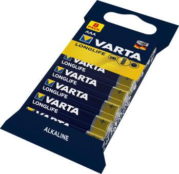 VARTA Pile alcaline 'Longlife', Micro AAA
