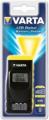 VARTA Testeur de piles, avec affiche LCD, noir