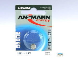 ANSMANN Piles alcalines 5015332 LR41 blister de 1