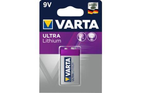 VARTA Piles lithium 6122301401 CR-V9 blister de 1
