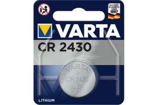 Varta piles lithium 6430101401 CR2430 blister de 1
