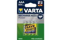 VARTA Batteries 56703101404 HR03 / AAA blister de 4