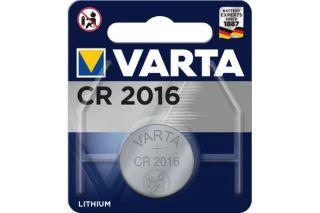 VARTA Piles lithium 6016101401 CR2016 blister de 1
