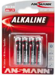 ANSMANN Pile alcaline 'RED', Micro AAA, blister de 4