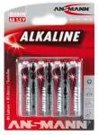 ANSMANN Pile alcaline 'RED', Mignon AA, blister de 4