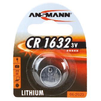 ANSMANN Pile bouton en lithium CR2330, 3,0 Volt, blister