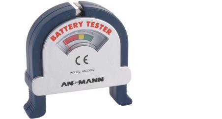 ANSMANN Testeur de piles 'BATTERY TESTER' pour tester les