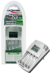 ANSMANN Chargeur 'PHOTOCAM IV', avec un écran LCD
